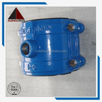 Ductile Iron Pipe Fitting Ductile Iron Saddle for PVC pipe