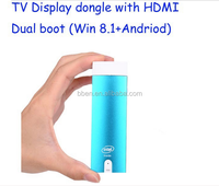 Intel Quad Core Z3735F windows mini pc dongle windows8.1 Android compute stick