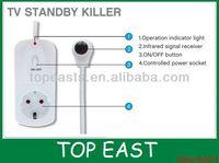 PC TV STANDBY KILLER socket for energy saving