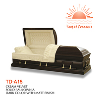 TD-A15 Christmas present American heritage panel casket price reduced on Black fri to Cyber mon