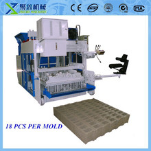 new technology product QMY18-15 moving block making machine /concrete machine for different types block