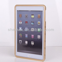 Slim lightweight bumper made from aerospace aluminum case for ipad mini