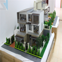 Residential Building Model with Professional Architectural Design as you required