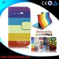 For Samsung Galaxy S4 Zoom Flip Cover Wholesale Printed Stand Wallet Leather Case Cover For Samsung Galaxy S4 Zoom C101