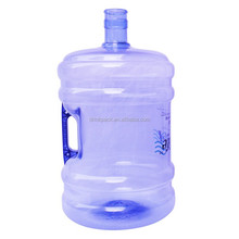 bpa free 5 gallon PET plastic water bottle with handle