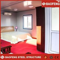 Professional making container house hotel accommodation