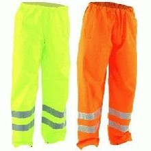Hi-visibility over trouser