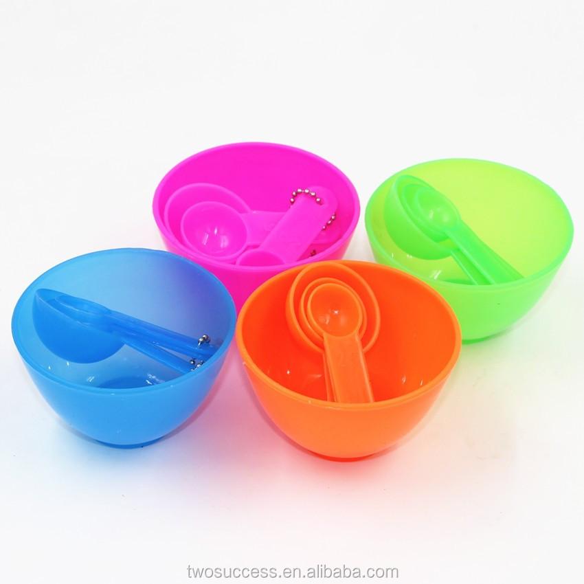 4 In 1 Facial DIY Mask Bowl Brush Spoon Tools Set .jpg