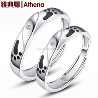 best selling products in america 925 silver couple ring diamond ring jakarta