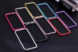 Slim Aluminum Metal Frame Bumper Mobile Phone Case Cover for for iphone 4 4s / 5 5s / 6 / 6 Plus for Samsung Galaxy S4 / S5 / S6