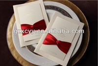 2013 handmade greeting card/wholesale wedding invitation cards