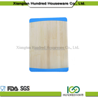 High demand High evaluation healthy and natural color bamboo chopping cutting board/ organic cutlery tray