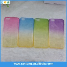 Main product long lasting double color phone case for wholesale