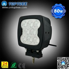 80w Led Work Light for Truck 4x4 Jeep High Power Led Worklights