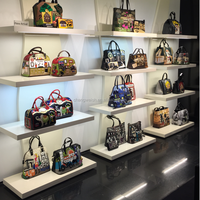 bag display shelf for bags stores in shopping mall or chain store