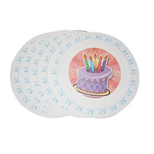 Hot Selling Customized Made 5 Compartment Paper Plates Fan