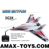 ep-203fj brushless rc airplane Mini Skyfun RTF Brushless Remote Control Airplane with 3G3X Technology