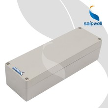 Saip/Saipwell 250*80*64MM Small Extruded Aluminum Enclosure For Electronic