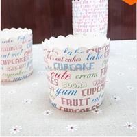 Hot selling Factory customized printing paper muffin cups