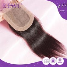 Top Quality Attractive Oem Colour Silkbase Base Virgin Indian Remy Hair Silk Closure