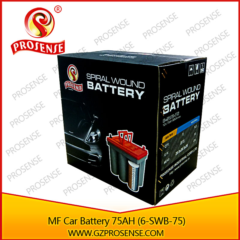 12v 75ah mf batterie de la voiture 6 swb 75 enroul en. Black Bedroom Furniture Sets. Home Design Ideas