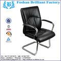 Modern portas de ferro forjado e acrílico púlpito com cadeira preguear do salão de beleza móveis BF-8927B-4