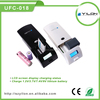 New and factory price lithium ion battery charger with usb port