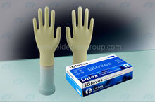 health & medical Milky White Disposable Medical sterile Latex Gloves