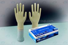 health & medical Milky White Disposable Medical sterile Latex Gloves