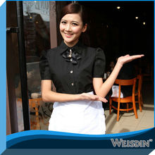 hembra restaurante café uniforme