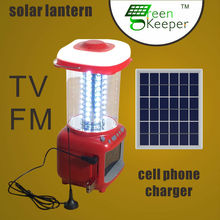 2015 Innovative CHL solar authentic lantern with TV for india