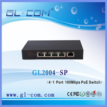 POE switch 5 port 10/100Mbps Ethernet switch power supply switch