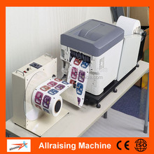 Digital Color Sticker Label Printing Machine, Roll to Roll Digital Label printing Machine, Auto Rotary Label Printer