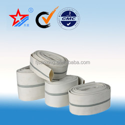 3 inch Rubber and PVC fire hoses with coupling india