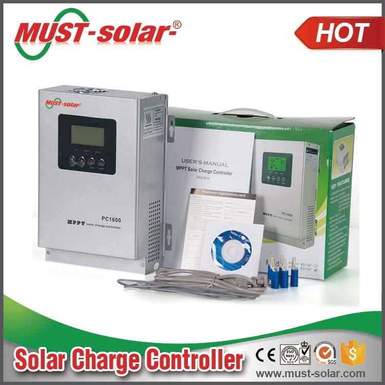 Pc1600 Series 45a 60a 24v/48v High Efficiency Off Grid Mppt Solar ...