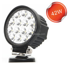 Factory direct LED Off-road Light,42W LED Work Light,12/24V Driving On Truck,Jeep, Atv,4WD,Boat,Mining LED driving light