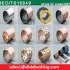 manufacturing all size of metal sleeve bushing(Du bush coat PTFE teflon,DX bush cover POM plastic,sliding bush)split steel bush