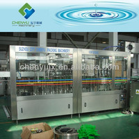 Automatic 3 in 1 bottled water manufacturing equipment/filling machine