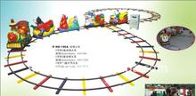 QHRT-02 Qingheng attractive outdoor kiddie riding train sets