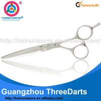 THREE DARTS free customers' logo anti-fatigue sharp hairdresser scissors 5.5""