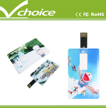 gifts for high school graduates promotional super thin credit card usb flash drive
