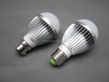 12V DC 3W LED Bulb Light b22,LED bulb for solar system and other DC Power System