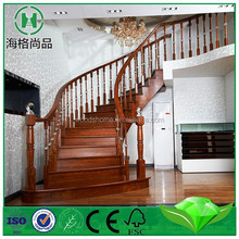 New type solid wood stair nosing, iron staircase
