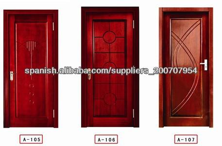 Puertas de madera para habitaciones puertas for Puertas para habitaciones precios