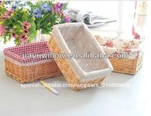 artesanía cesta de mimbre cesta de mimbre tejido