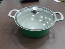 die cast&non-stick aluminum cookware\casserole \soup pot\stock pot