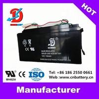 Longlife rechargeable gel exide 12v150ah solar battery