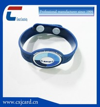 Hot new products Chip programming/encoding silicone wristband