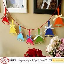 2015 cheap various design felt christmas garland for home decoration