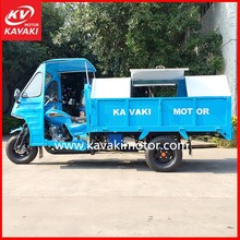 Cheap China Factory Motorcycle Truck 3-Wheel Tricycle/Garbage Truck/Sanitation Vehicle